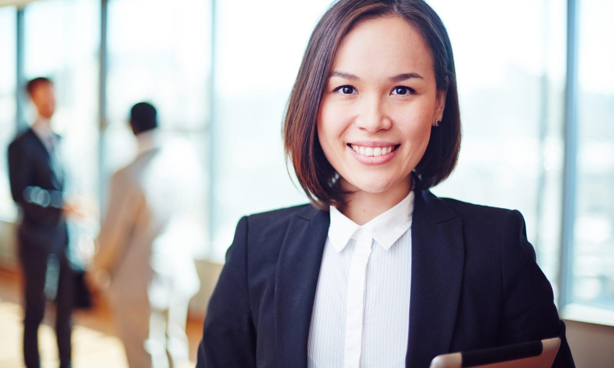 Female Management Consultant