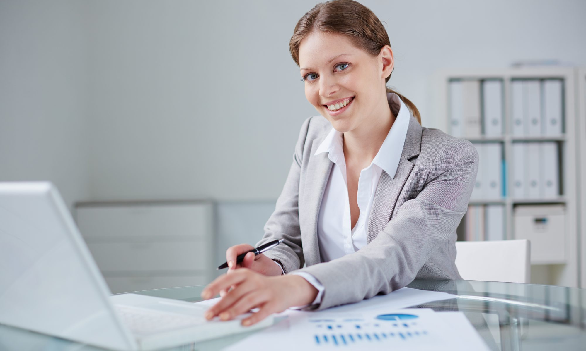 Female project manager